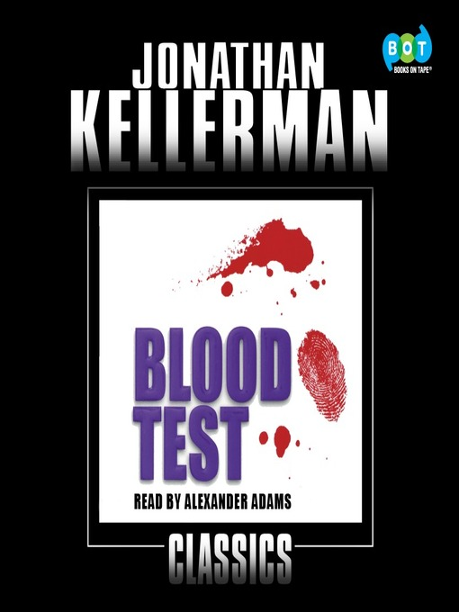Title details for Blood Test by Jonathan Kellerman - Wait list