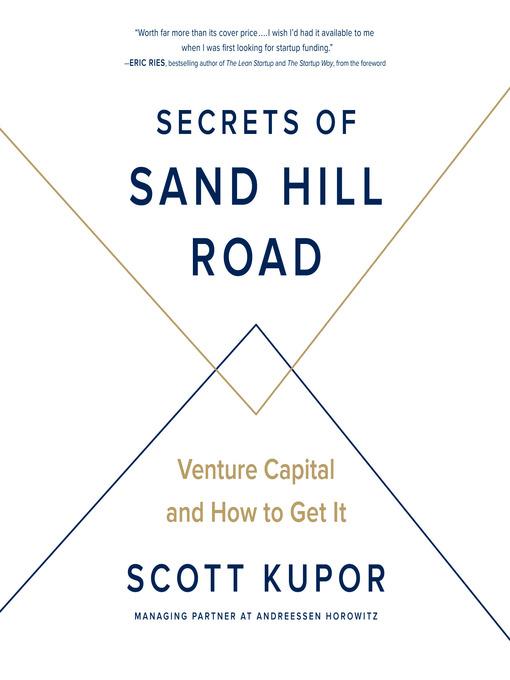 Title details for Secrets of Sand Hill Road by Scott Kupor - Wait list