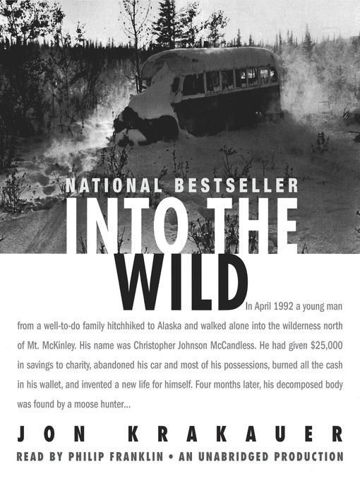 Title details for Into the Wild by Jon Krakauer - Wait list