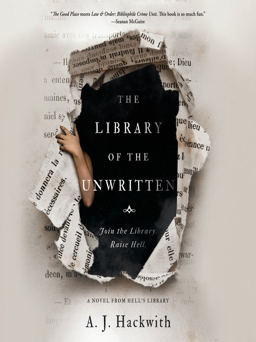 Title details for The Library of the Unwritten by A. J. Hackwith - Wait list