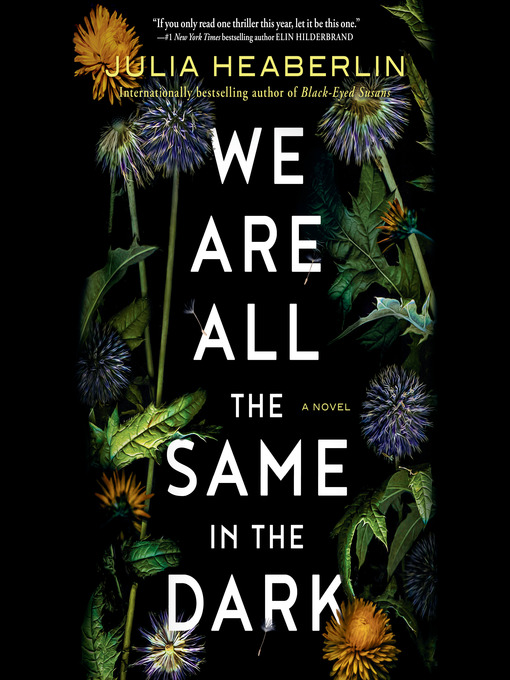 Title details for We Are All the Same in the Dark by Julia Heaberlin - Wait list