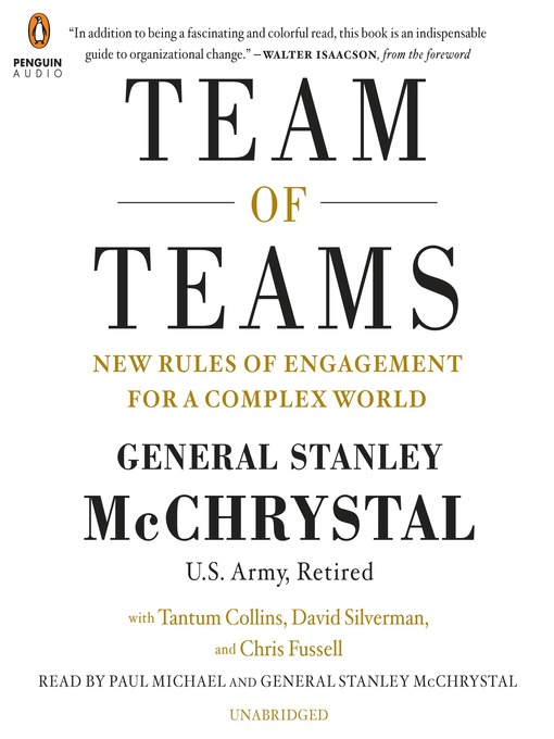 Title details for Team of Teams by Stanley Mcchrystal - Available