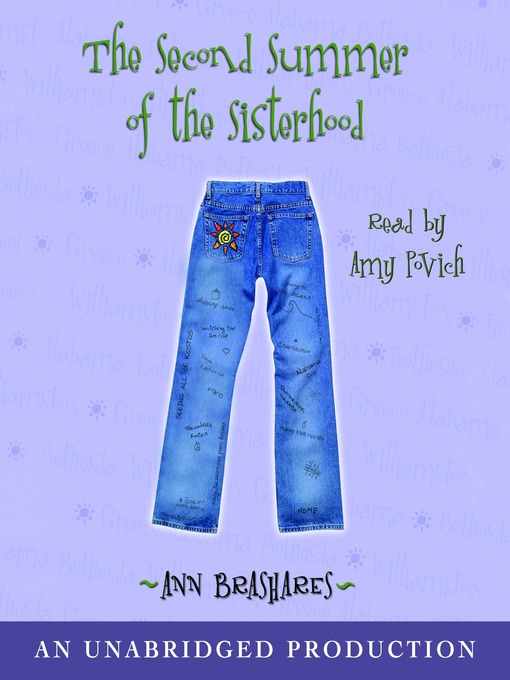 Title details for The Second Summer of the Sisterhood by Ann Brashares - Wait list