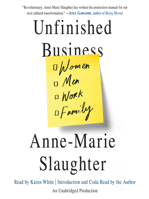Cover of Unfinished Business