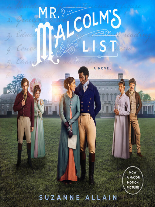 Title details for Mr. Malcolm's List by Suzanne Allain - Wait list