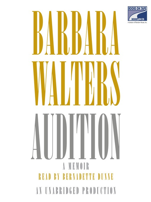 Title details for Audition by Barbara Walters - Wait list