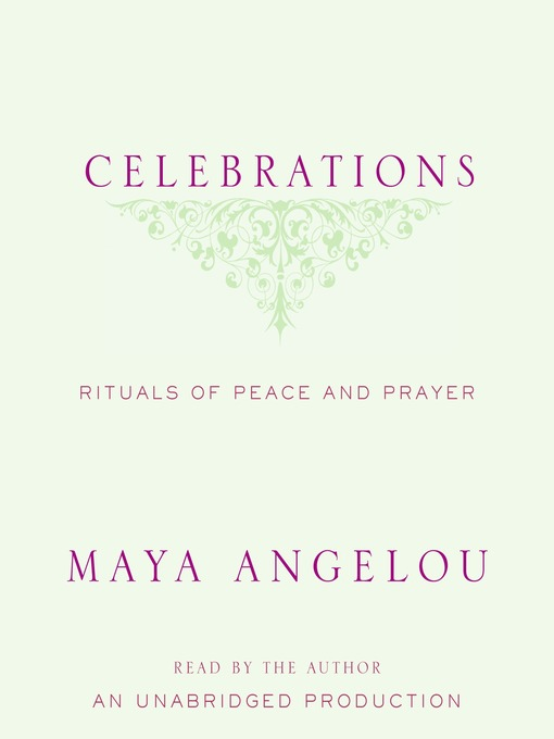 Title details for Celebrations by Maya Angelou - Available