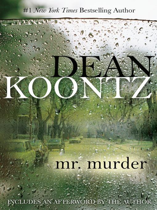 Title details for Mr. Murder by Dean Koontz - Wait list