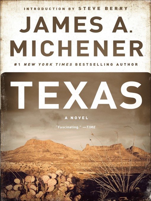 Title details for Texas by James A. Michener - Wait list