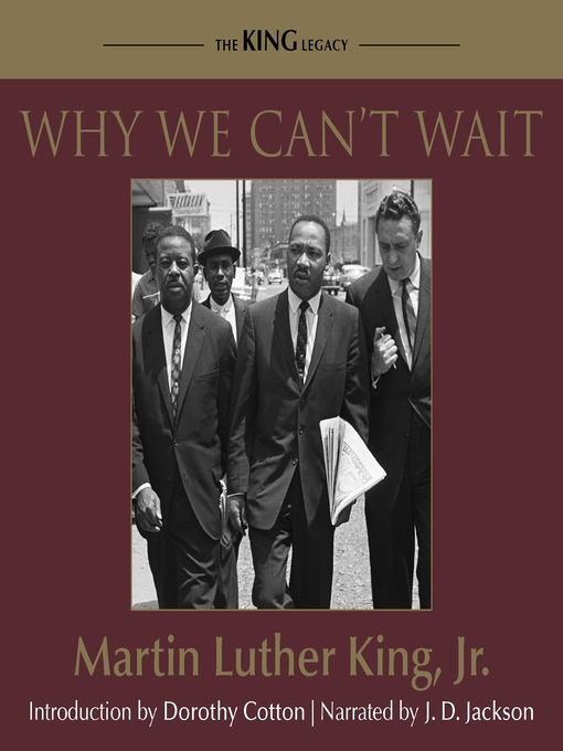 Title details for Why We Can't Wait by Martin Luther King - Wait list