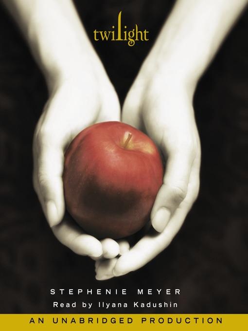 Twilight by Stephenie Meye Audio Book cover