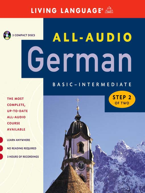 Title details for All-Audio German Step 2 by Living Language - Available