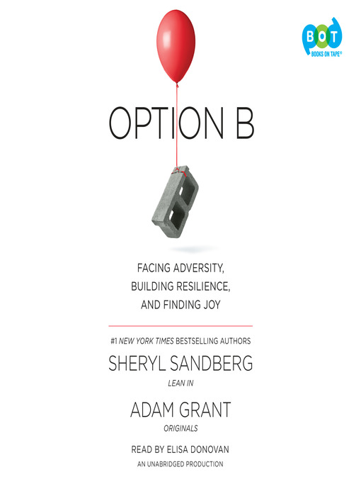 Title details for Option B by Sheryl Sandberg - Available