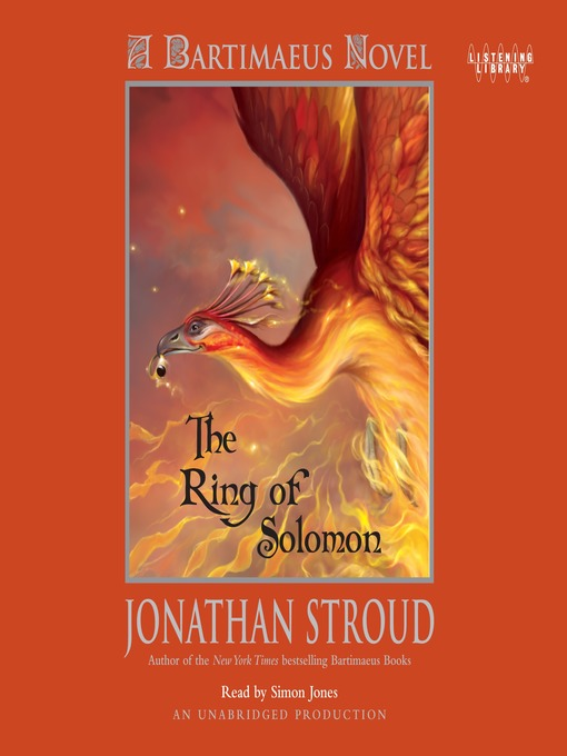 Title details for The Ring of Solomon by Jonathan Stroud - Available
