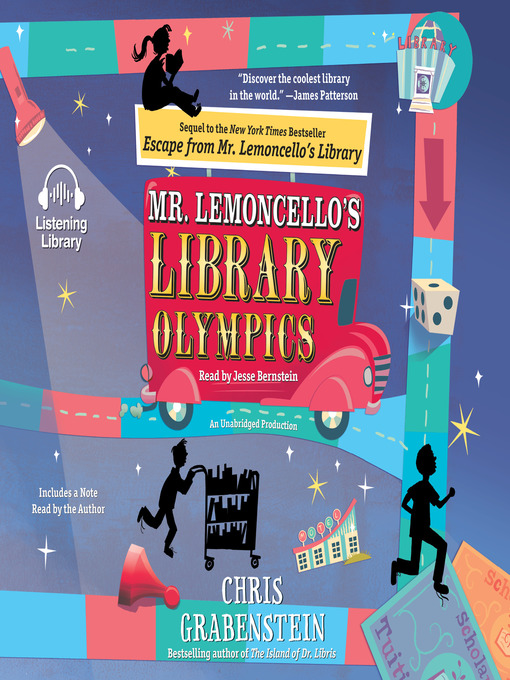 Title details for Mr. Lemoncello's Library Olympics by Chris Grabenstein - Wait list
