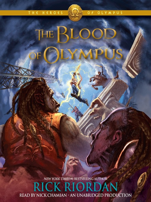 Title details for The Blood of Olympus by Rick Riordan - Wait list