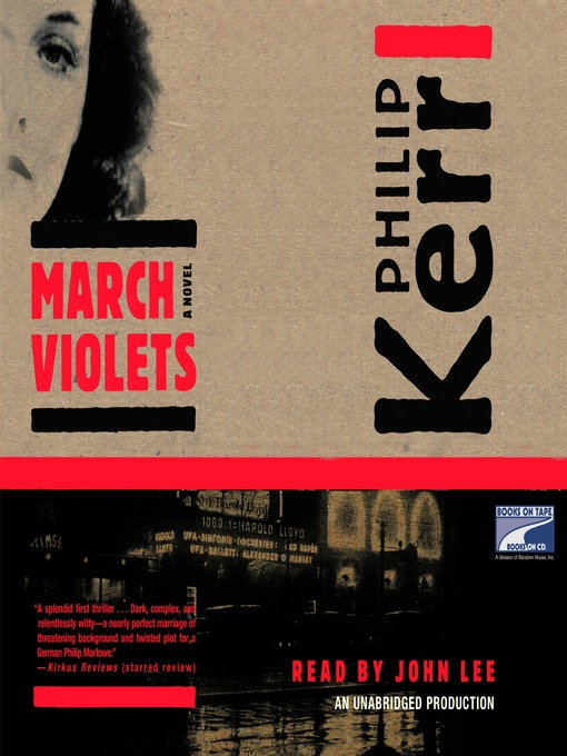 Title details for March Violets by Philip Kerr - Available