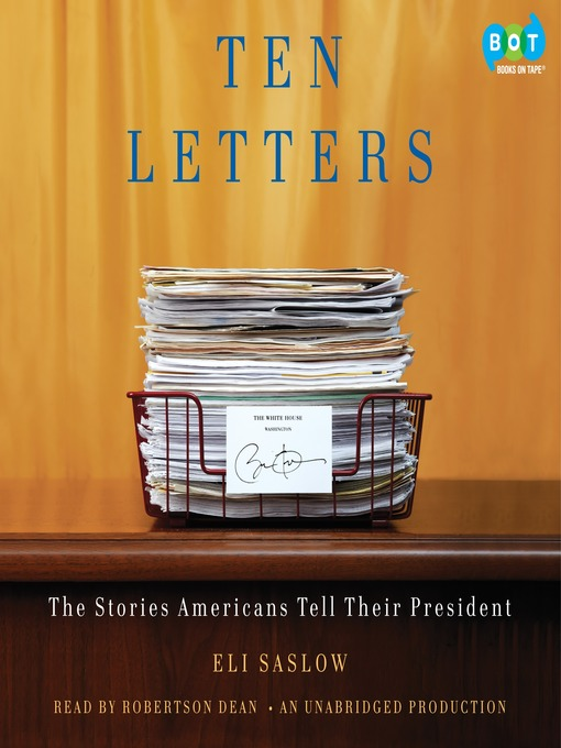 Title details for Ten Letters by Eli Saslow - Available