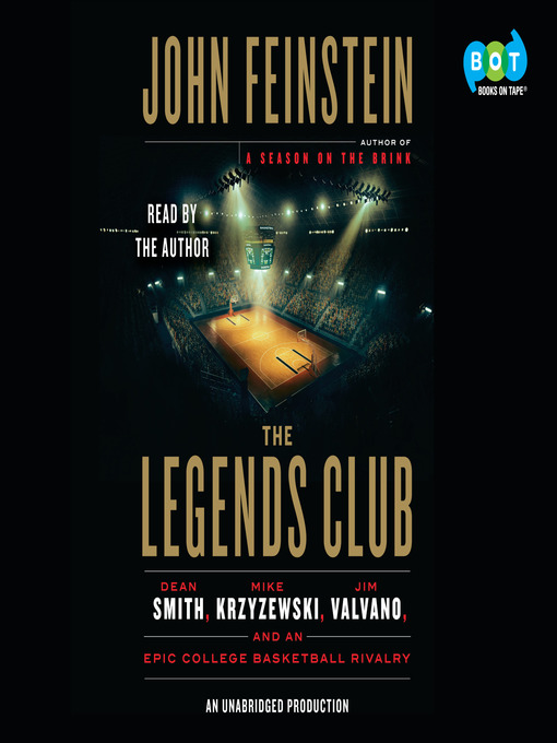 Title details for The Legends Club by John Feinstein - Wait list