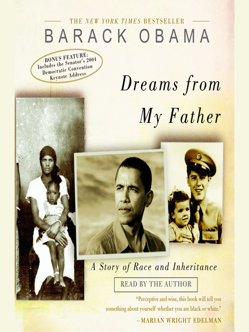 Cover of Dreams from My Father