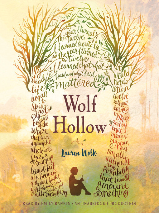 Title details for Wolf Hollow by Lauren Wolk - Wait list