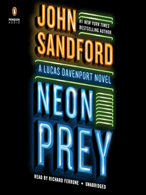 Audiobook cover Neon Prey