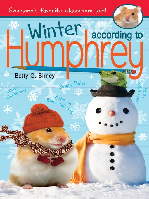 Title details for Winter According to Humphrey by Betty G. Birney - Wait list