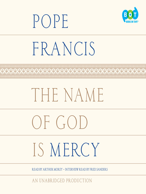 The Name Of God Is Mercy Media On Demand Overdrive