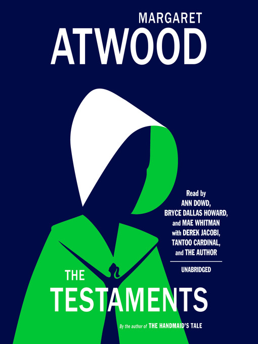 Title details for The Testaments by Margaret Atwood - Wait list