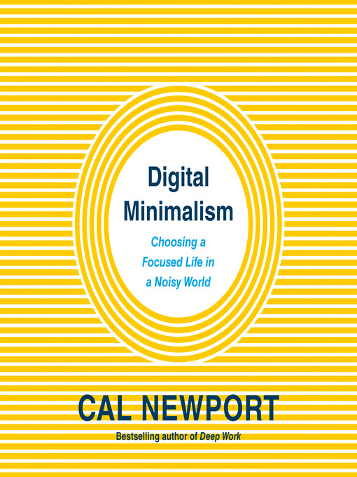 Cover image for book: Digital Minimalism