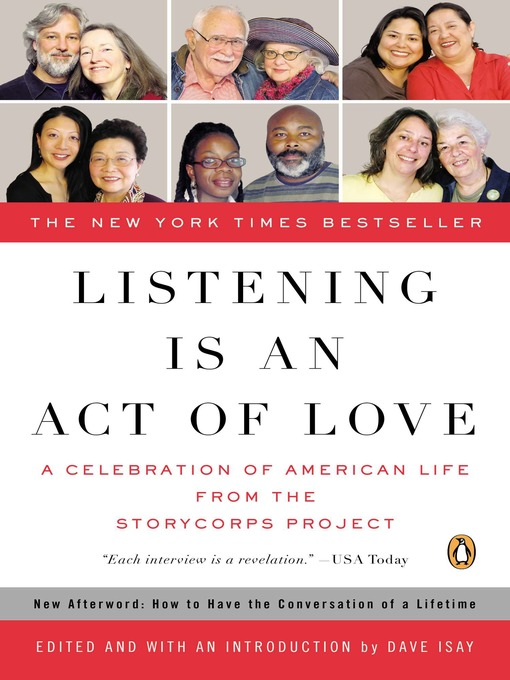Title details for Listening Is an Act of Love by Dave Isay - Available