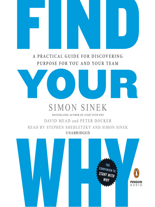 Title details for Find Your Why by Simon Sinek - Wait list