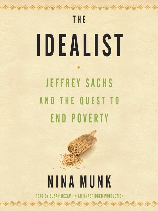 Title details for The Idealist by Nina Munk - Wait list