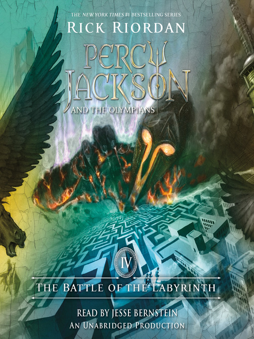 Title details for The Battle of the Labyrinth by Rick Riordan - Wait list