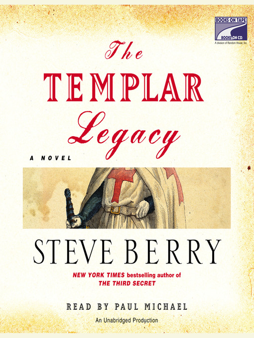 Title details for The Templar Legacy by Steve Berry - Wait list