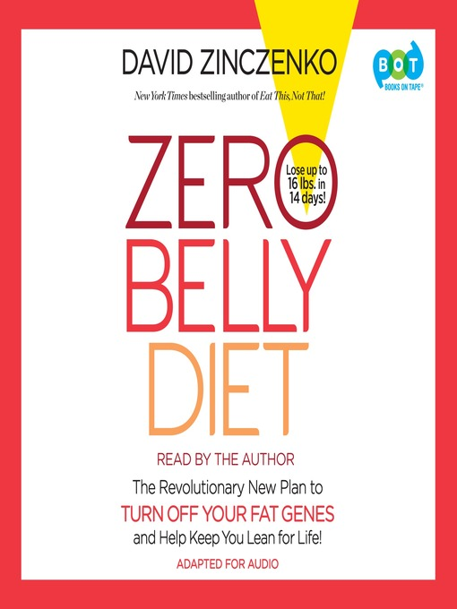 Title details for Zero Belly Diet by David Zinczenko - Available