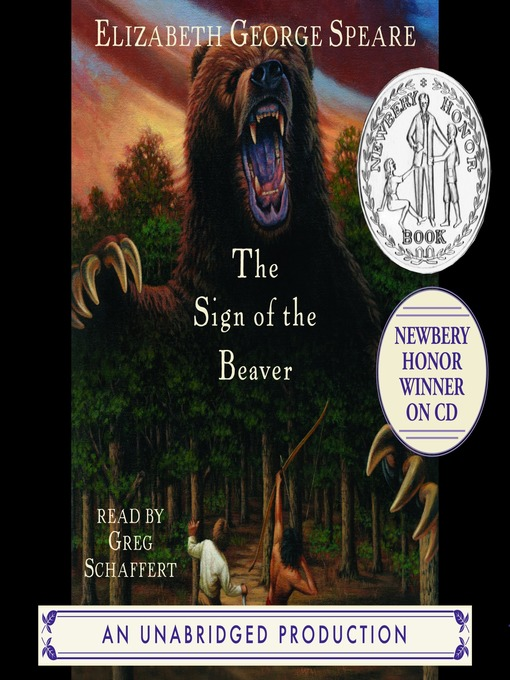 Title details for The Sign of the Beaver by Elizabeth George Speare - Available