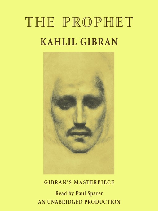 Title details for The Prophet by Kahlil Gibran - Wait list