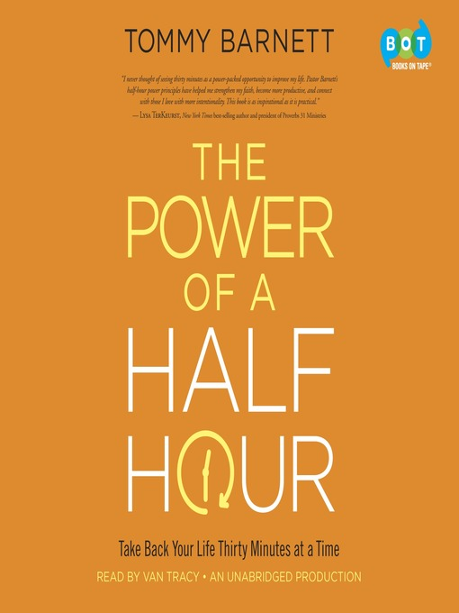 Title details for The Power of a Half Hour by Tommy Barnett - Wait list