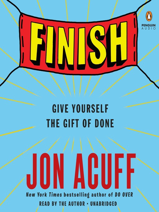 Title details for Finish by Jon Acuff - Available