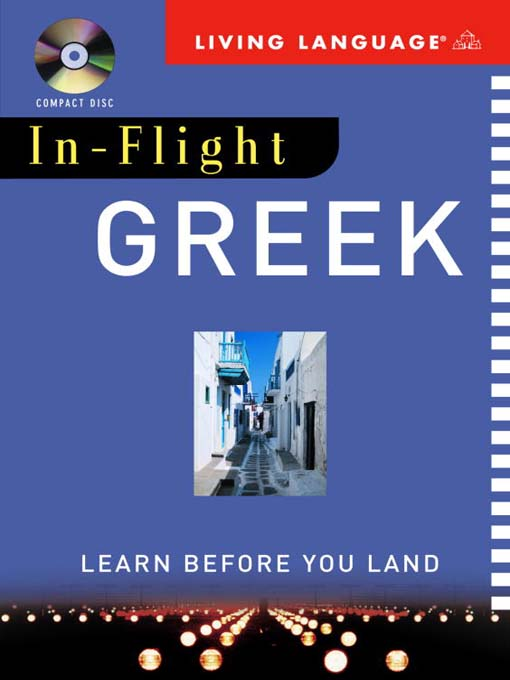 Title details for In-Flight Greek by Living Language - Available