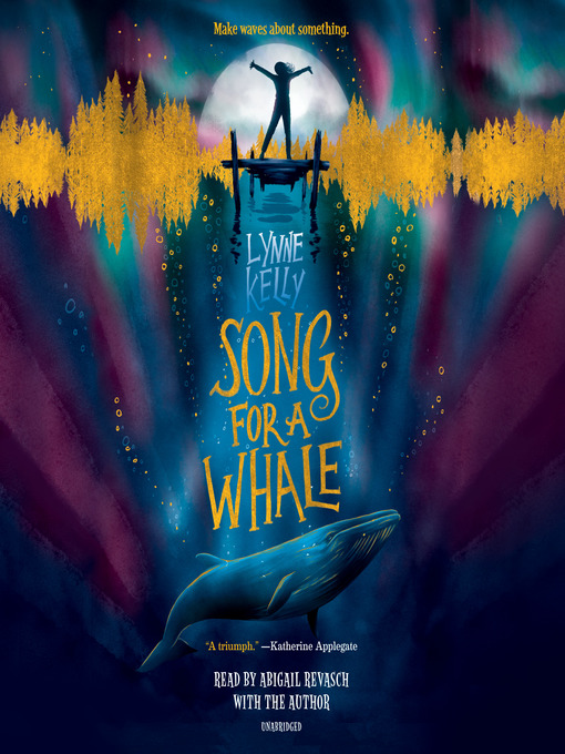 Song for a Whale, book cover