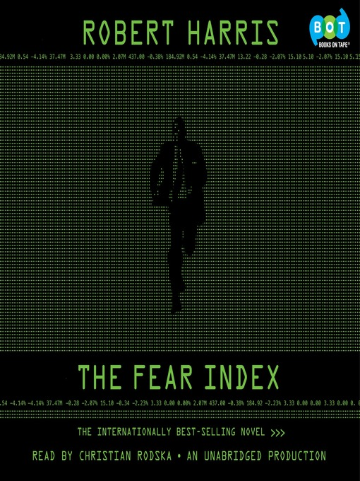 Title details for The Fear Index by Robert Harris - Available