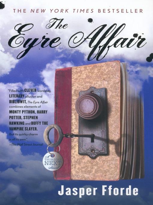 Title details for The Eyre Affair by Jasper Fforde - Wait list