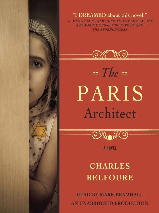 Title details for The Paris Architect by Charles Belfoure - Wait list