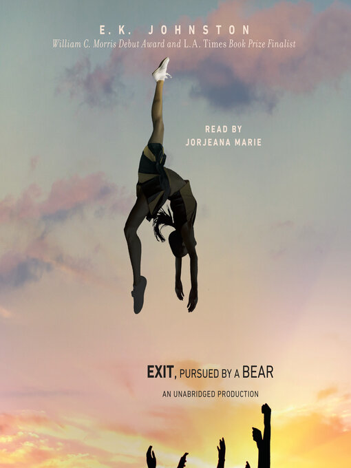Title details for Exit, Pursued by a Bear by E.K. Johnston - Wait list