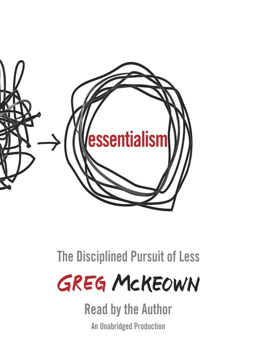 Title details for Essentialism by Greg McKeown - Wait list