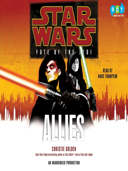 Title details for Allies by Christie Golden - Available