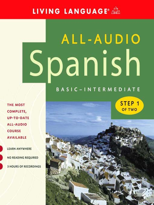 Title details for All-Audio Spanish Step 1 by Living Language - Wait list