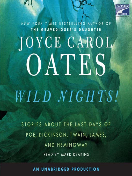 Title details for Wild Nights! by Joyce Carol Oates - Wait list
